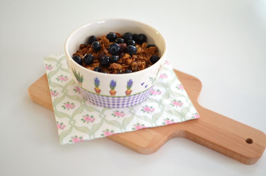 Granola mit Naturjoghurt